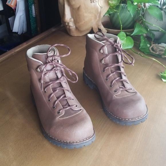 Alico Belluno Mens Brown Leather Hiking